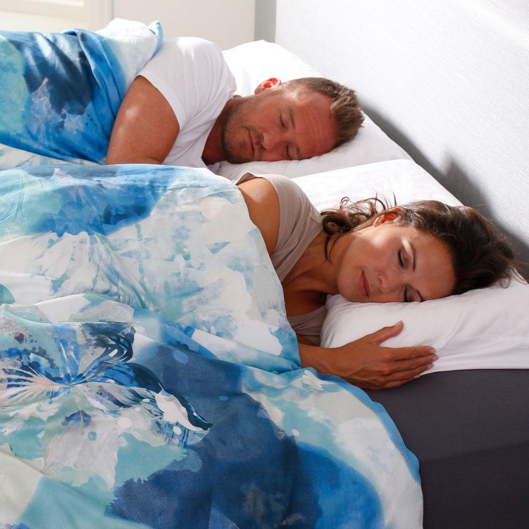 Wennen aan je nieuwe bed