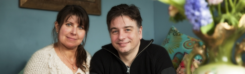 Dat iemand zich zo om mijn nachtrust bekommert vind ik uniek - Rob van Sprang en Margot Volman