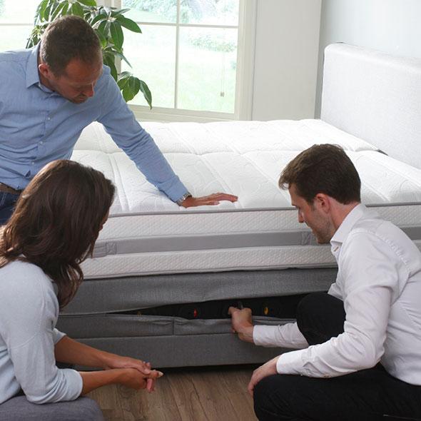 De juiste ondersteuning in een bed; vanuit de bedbodem of het matras?
